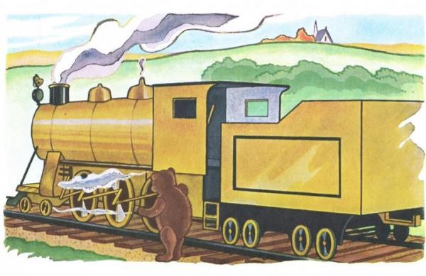 Сказка про паровозик который смог
