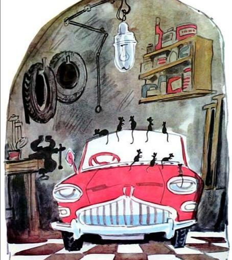 Сказка об автомобиле Лэйлы Берг