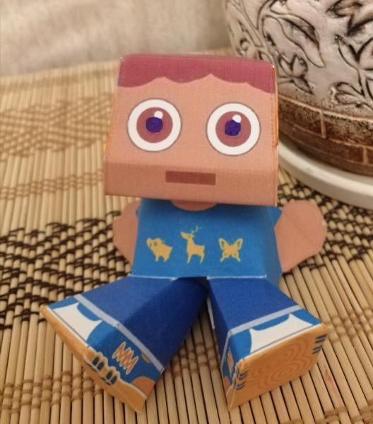 Бумажная игрушка шаблон