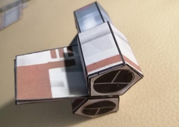 Звёздные войны. Бумажная игрушка
