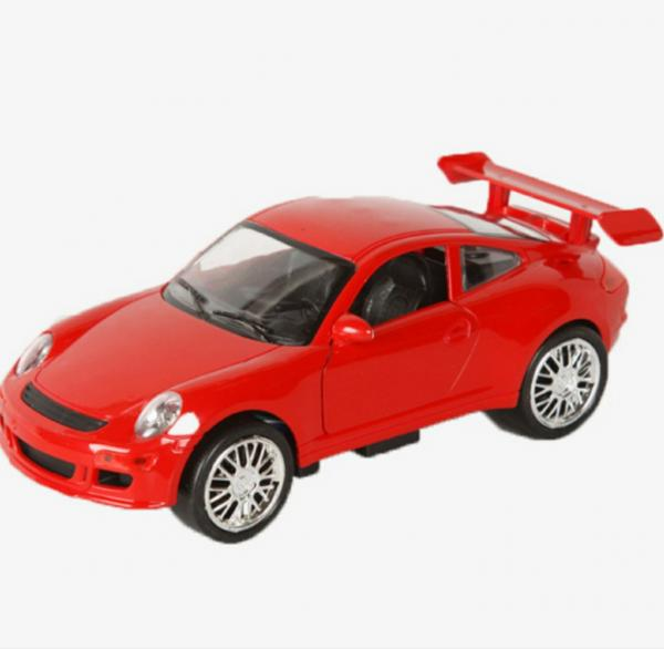 Сказка про красную машину