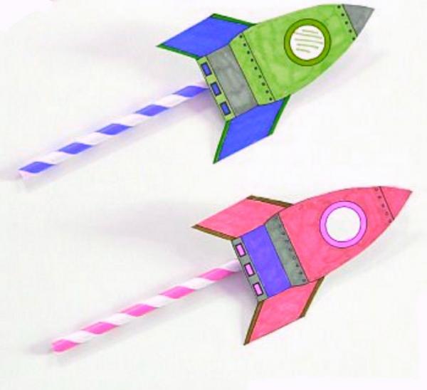 Ракета поделка