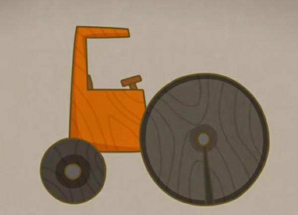 Сказка про тракторок