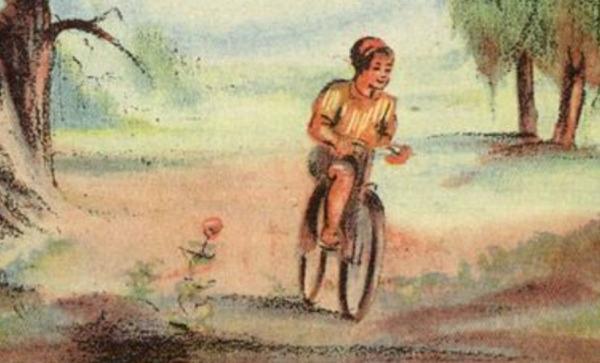 Стих про велосипед