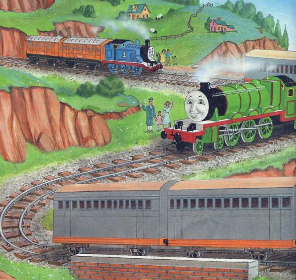 Сказка про паровозик Томас читать