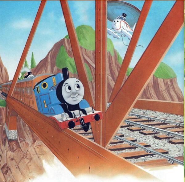 Паровоз Томас, сказка читать онлаён