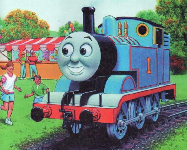 Томас на ярмарке