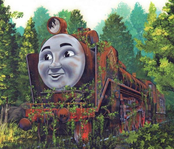 Сказка про поезда