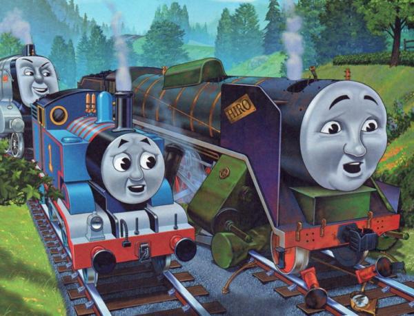 Сказка про паровозик Томас