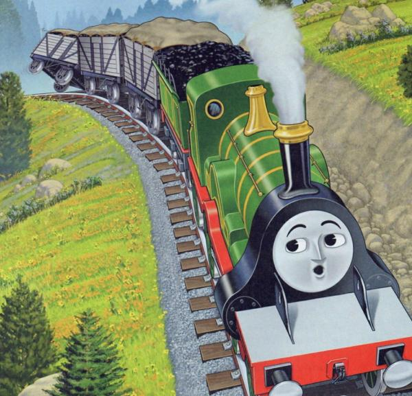 Сказка про паровозик Томас и Эмили