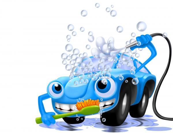 Сказка про грязные машину