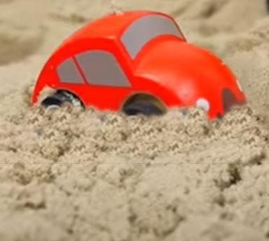 Сказка про красный автомобиль для детей