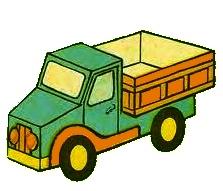 бесплатный шаблон грузовика