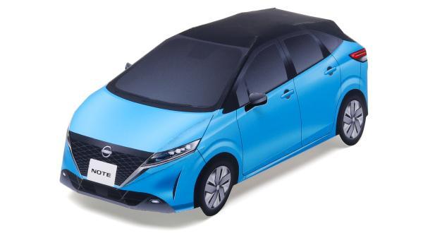 Бумажный макет автомобиля ниссан