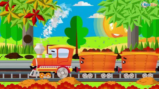 Сказка про поезд для детей