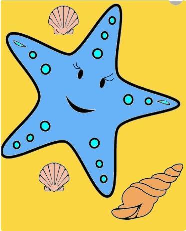 Сказка про морскую звезду