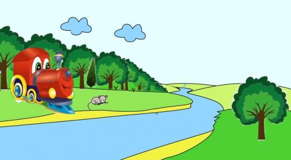 Сказка про паровозик Ту-Ту и Мышонка