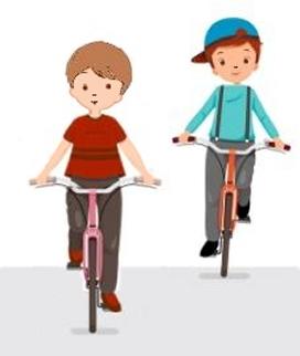 Сказка про велосипед